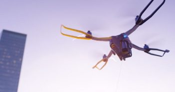 Fotokite's foldable, tethered Phi flying camera